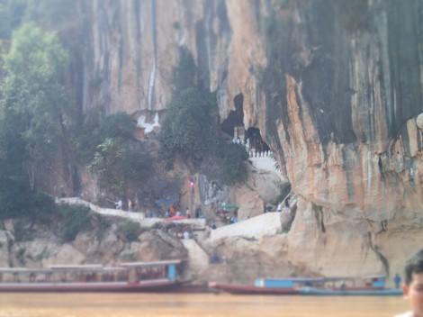 the Pak Ou caves