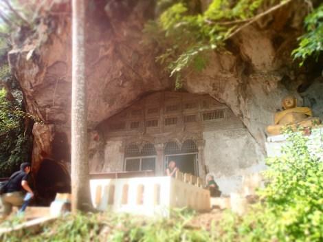 upper cave entrance