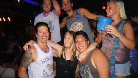 Back: Me, Darryl, Ashley Front: Ryan, Alison, Qing