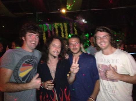 Jack, Rob Schneider, Vasco and I