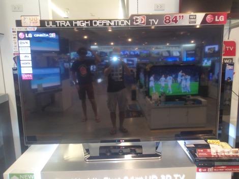 84 Inch TV - Huge!