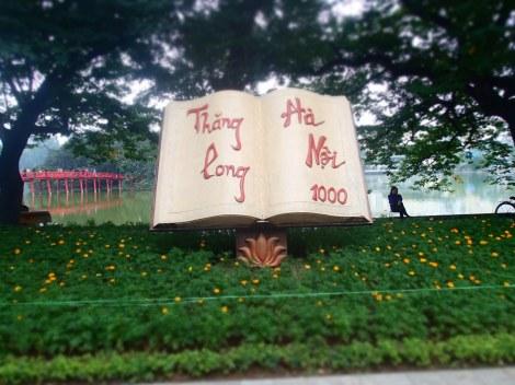The former name of Hanoi