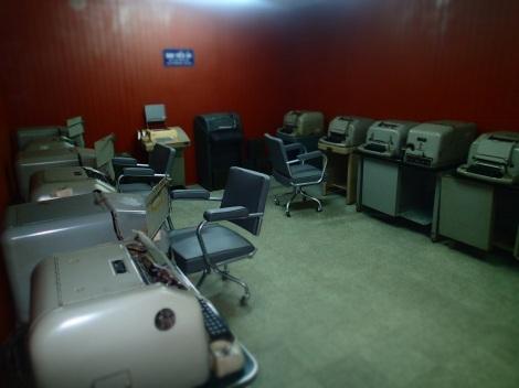 The underground transmission room