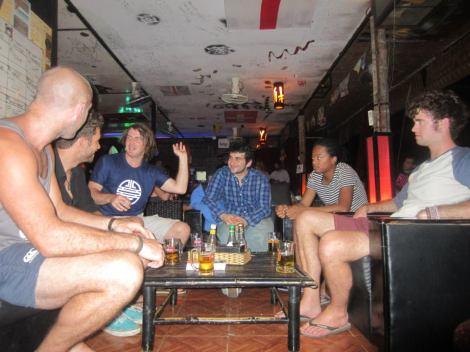 Eoin, Dutch guy, Me, Wierd Bloke, Sandro, Jack