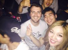Me, Tim, Chiaki and Tetsu