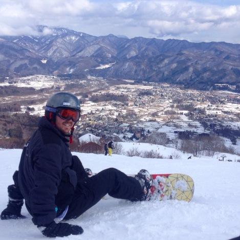 Snowboarding in Hakuba!