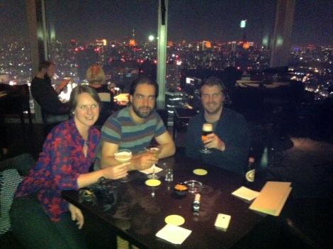 Jen, Joe and I at the Park Hyatt