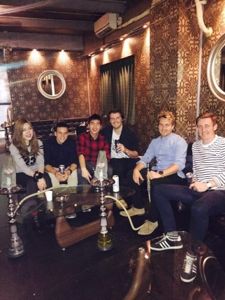 Chiaki, Matt, Tim, Me, Sam, Dan