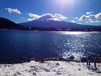 View from ake Kawaguchiko