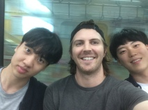 With Korean Friends