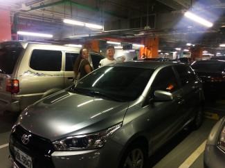 Hiring our Toyota Yaris!