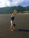 Handstands on Yilan Beach