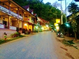 Pakbeng Main (only) Street