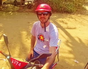 Rode around Bagan on an Electric Scooter