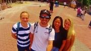 With the Norwegian Crew