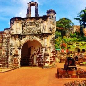 Old Portuguese Ruins