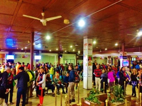 Inside Kathmandu Airport